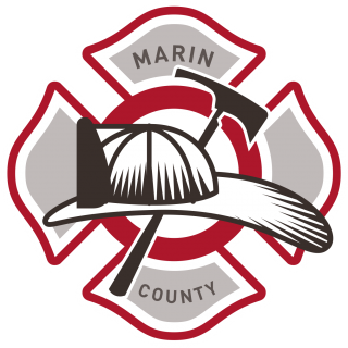 Image of Firefighter Hat and Logo