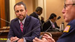 Assemblyman Levine at the Communication & Conveyance Committee Hearing on AB 1699