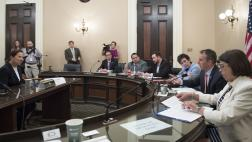 Assemblymember Levine Speaks at Select Committee on International Agreements